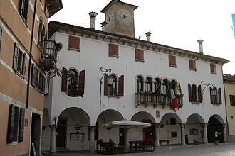 Mel, Veneto - The tow Hall