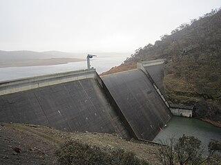 Tantangara Dam dam