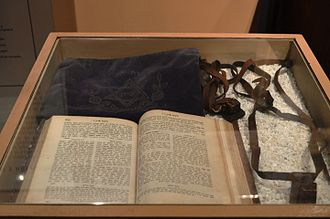 Crypto-Judaism - Jewish religious items at the Metropolitan Museum of Monterrey.