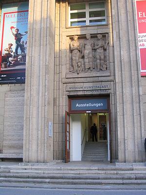 Museum Kunstpalast - Image: Museum Kunstpalast, Düsseldorf, Osteingang 2011
