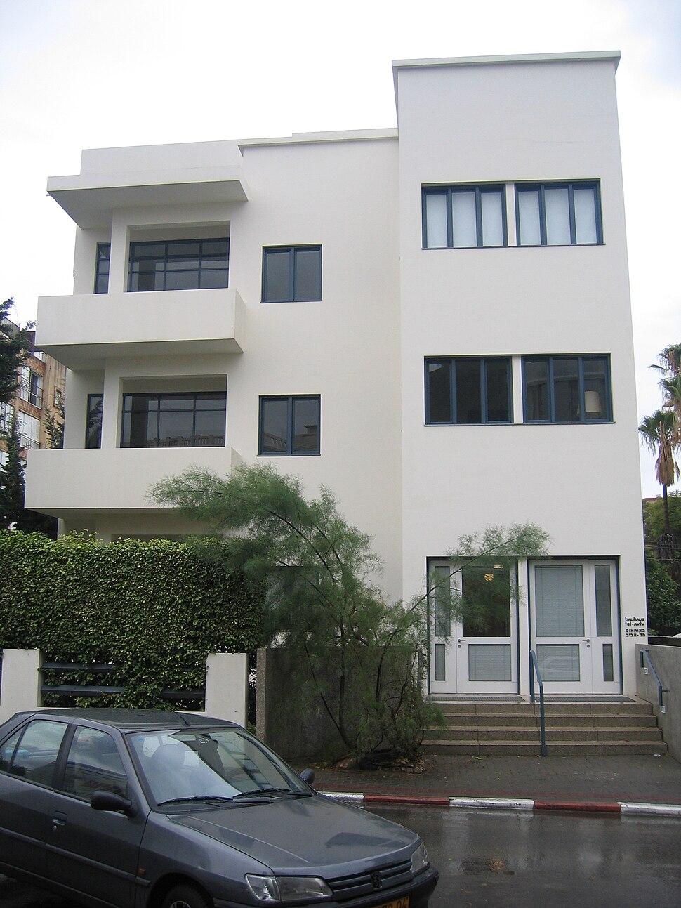 Museum of Bauhaus at Bialik Street, Tel Aviv-Yafo