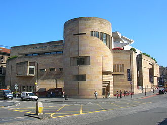 National Museum of Scotland - The Museum of Scotland building, part of the National Museum of Scotland