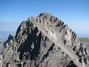 Mount Olympus - Olympus' highest peak, Mytikas