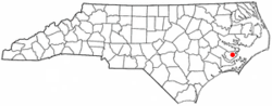 Location of Stonewall, North Carolina