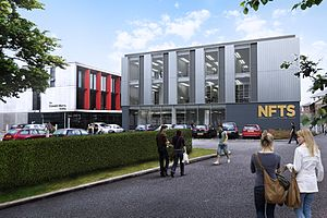 National Film and Television School - One of the new NFTS buildings to be opened in 2017 (Artists impression).