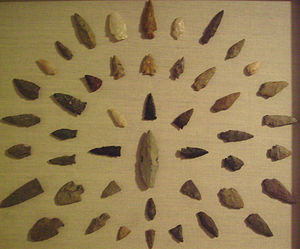 Projectile point - Image: Na arrowheads