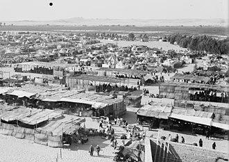 Nabi Rubin - Pilgrim encampments in Nabi Rubin, 1920–1933