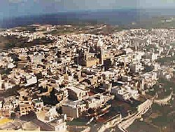 Aerial view of Nadur