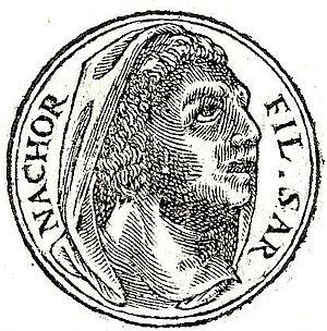 """Nahor, son of Serug - Nahor, from """"Promptuarii Iconum Insigniorum"""""""