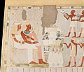 Nakht and his Wife Receiving Offerings, Tomb of Nakht MET DT206358.jpg