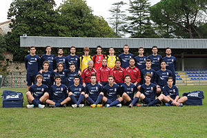 A.S.D. Narnese Calcio - The winning team of the last championship – Eccellenza 2012–13.