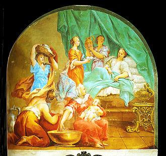 Pietro Dandini - Image: Nascita di maria, dandini