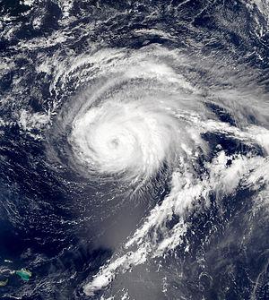 Hurricane Nate (2005) - Image: Nate Sept 7 2005 1730Z