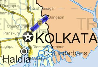 National Highway 112 (India) - Image: National Highway 35 (India)