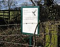 Nature reserve sign - geograph.org.uk - 148179.jpg