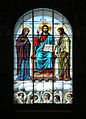 Naval Cathedral in Kronstadt .Stained glass.jpg