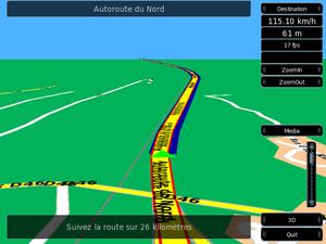 Turn-by-turn navigation - Navit turn-by-turn navigation