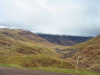 Grampian Mountains beim Ben Nevis