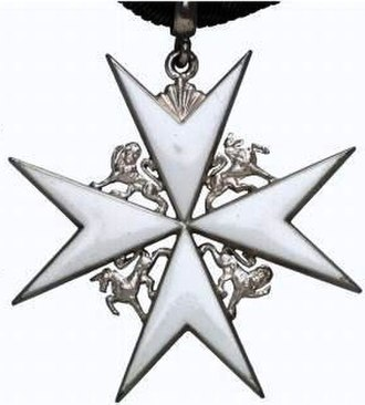 William Hunt (officer of arms) - Insignia of CStJ