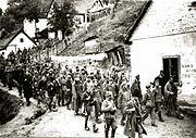 Nemacki zarobljenici u Uzicu 1941