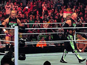 Road Dogg - The New Age Outlaws as the WWE Tag Team Champions in 2014.