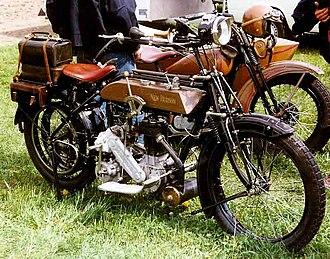 New Hudson (company) - New Hudson 3,5-4 HP 500 cc SV 1914
