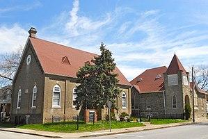 Colwyn, Pennsylvania - Image: New Life Baptist Colwyn PA