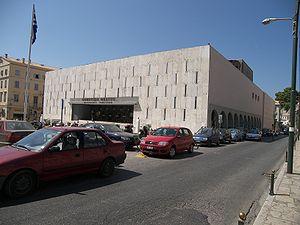 Municipal Theatre of Corfu - The new municipal theatre, by Pericles A. Sakellarios