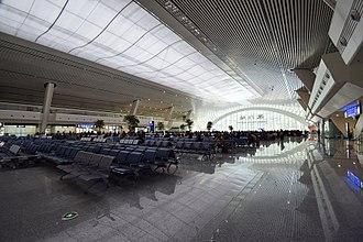 Xiamen railway station - Xiamen railway station Waiting hall