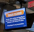 New York City JFK Airport AirTrain Track closed.jpg