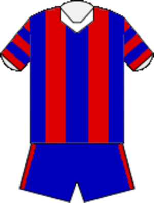 1997 ARL season - Image: Newcastle Knights 1997 Home Jersey