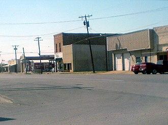 Newcastle, Texas - Downtown Newcastle.