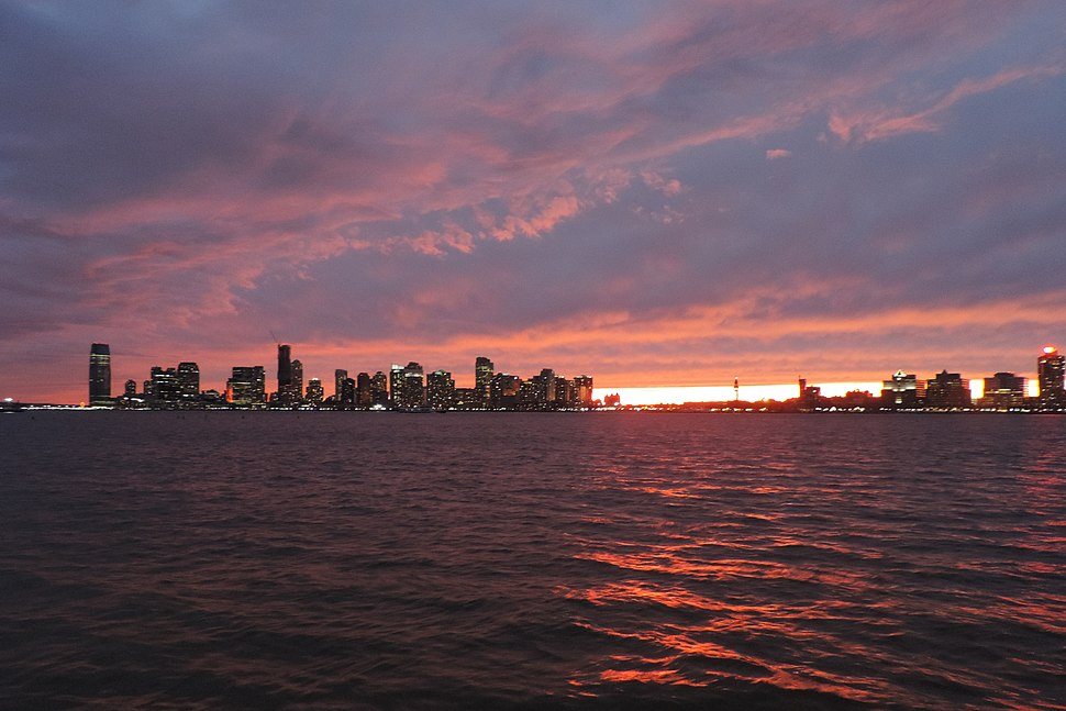 Newport red sunset 2015-11-22 jeh