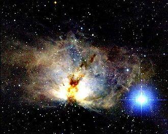 Flame Nebula - Image: Ngc 2024 2mass