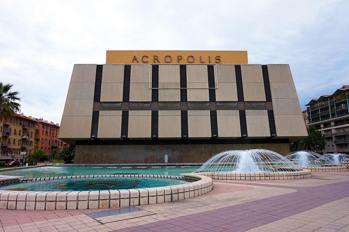 Palais des congr s acropolis wikipedia for Centre des impots nice exterieur