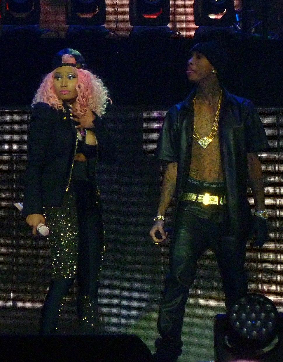 Nicki Minaj and Tyga