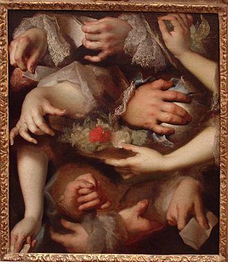 Nicolas de Largillière - Study of hands (Musée du Louvre)