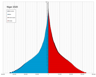 Demographics of Niger