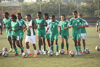 Nigeria women's national under-20 football team - Training in Abuja