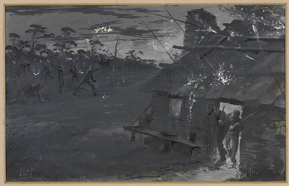Night Attack by Blacks