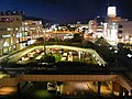 Night view of Izumi-chuo seen from the multi-story parking garage of Izumi-chuo Sta..JPG