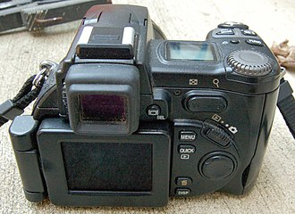 Nikon Coolpix 8700 - Image: Nikon Coolpix 8700 Rearview 1816px