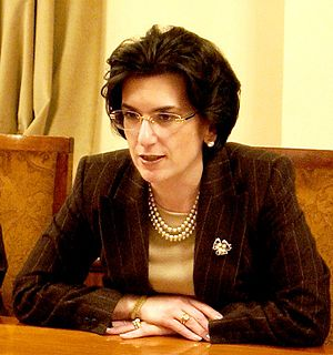 Chairperson of the Parliament of Georgia - Image: Nino Burjanadze (Tbilisi, December 5, 2003)