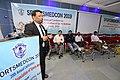 Nisith Ranjan Chowdhury Talks on Prevention of Sudden Death in Sports - SPORTSMEDCON 2019 - SSKM Hospital - Kolkata 2019-03-17 4038.JPG