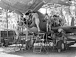 No 12 Squadron Vengeance dive bomber being serviced in April 1943.JPG