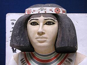 Prince Rahotep - Image: Nofret statue
