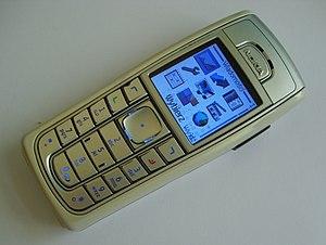 Nokia 6230 - A silver Nokia 6230