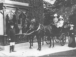 Norbury Hall c.1880