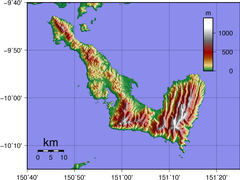Normanby Island (Papua New Guinea) Topography.png