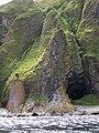 North Foghorn and Swine Cave, Ailsa Craig - geograph.org.uk - 1363723.jpg